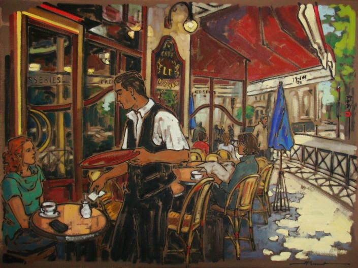 Artiste peintre québécois
