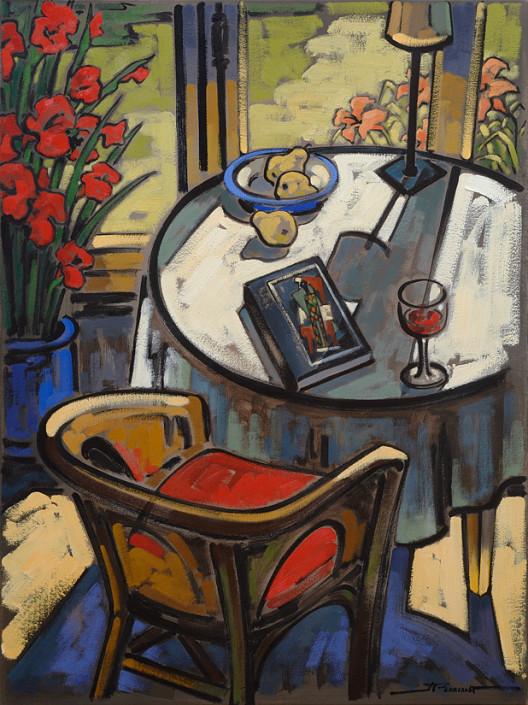 Peintre québécois connu