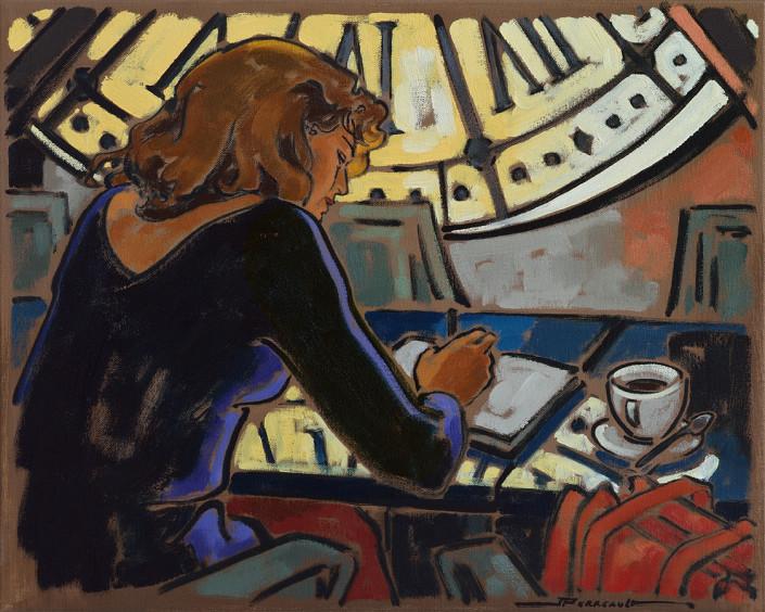 Au Musée d'Orsay, peinture