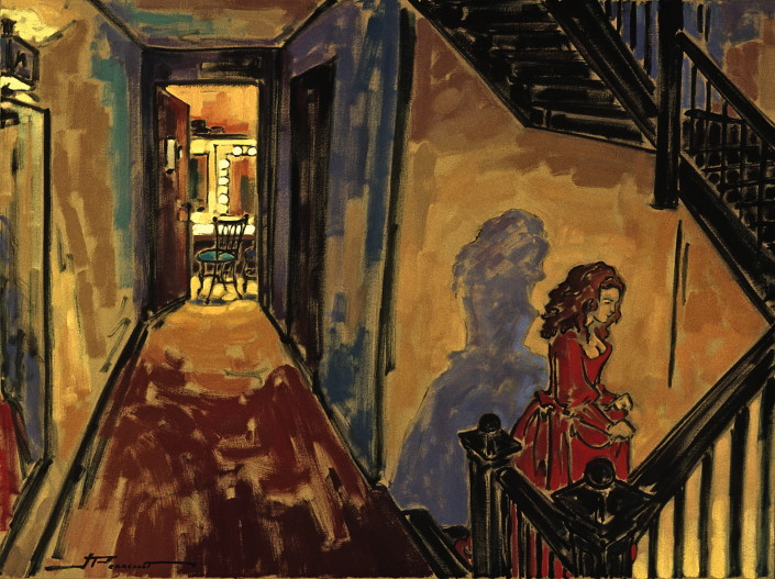 Jeannette Perreault est un artiste peintre connu