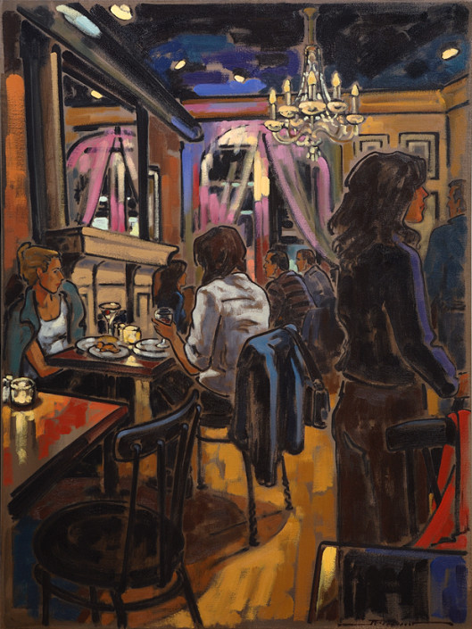 Artiste peintre canadien