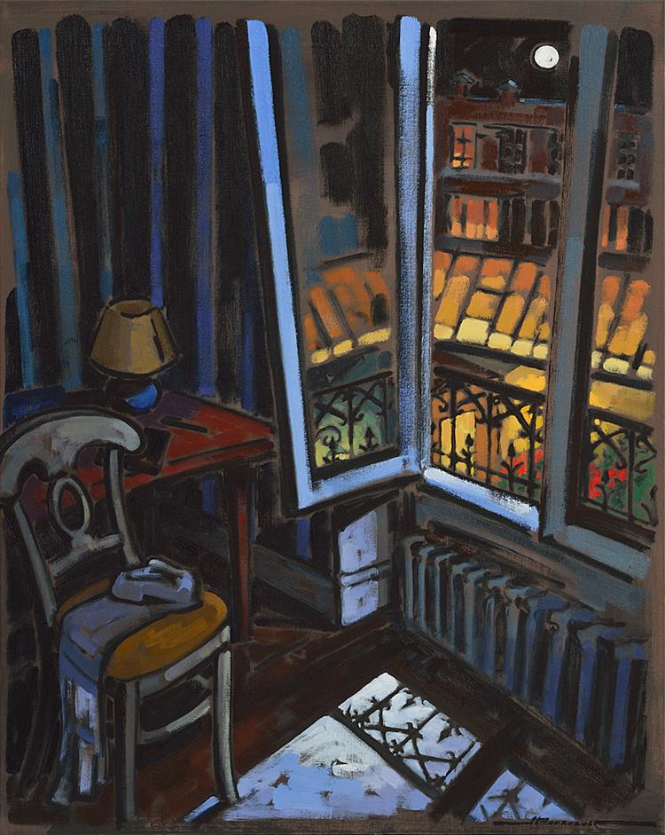 Jeannette perreault artiste peintre for Par la fenetre ouverte bonjour